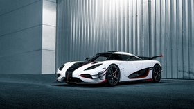 koenigsegg, one, side view - wallpapers, picture