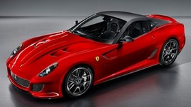 red, car, sports, ferrari - wallpapers, picture
