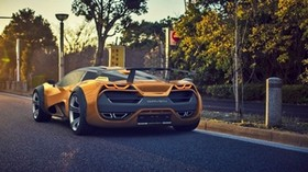 lada, raven, 2015, concept, rear view, sports car - wallpapers, picture