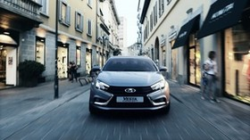 lada, vesta, 2180, concept, sedan, silver - wallpapers, picture