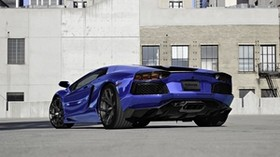 lamborghini, aventador, lp700-4, blue, lamborghini, aventador, blue - wallpapers, picture