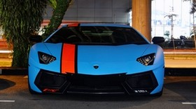 lamborghini, aventador, lp700-4, blue, supercars, exotic - wallpapers, picture