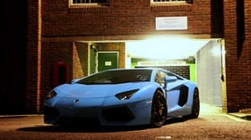lamborghini, aventador, lp700-4, front view - wallpapers, picture