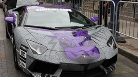 lamborghini, aventador, supercar, gumball 3000 - wallpapers, picture