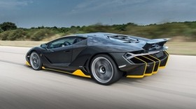 lamborghini, centenario, side view, speed - wallpapers, picture