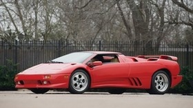 lamborghini countach, lamborghini, sports car, italy, red, side view - wallpapers, picture