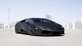 lamborghini, huracan, gmg, black, side view, tuning - wallpapers, picture