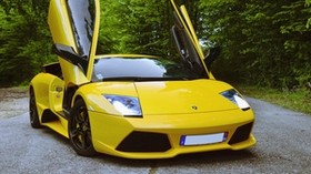 lamborghini murcielago lp640, lamborghini murcielago, lamborghini, sports car, yellow - wallpapers, picture
