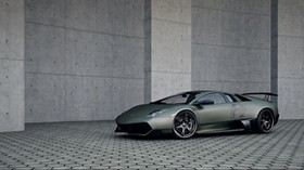 lamborghini murcielago, lp 720, supercar, vinyl, wall, pavers - wallpapers, picture