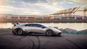 lamborghini murcielago, car, drift - wallpapers, picture