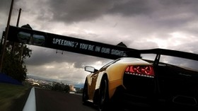 lamborghini, rear view, yellow - wallpapers, picture