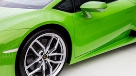 lamborghini, green, door, wheel - wallpapers, picture
