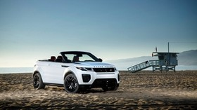 land rover, range rover, evoque, side view - wallpapers, picture
