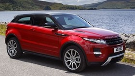 land rover, range rover, red, car, SUV, evoque - wallpapers, picture