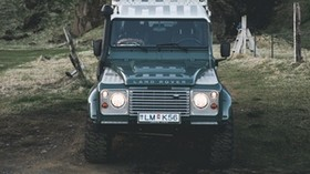 land rover, SUV, mountains, car - wallpapers, picture