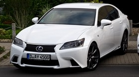 lexus, gs450h, f sport, white - wallpapers, picture