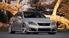 lexus is 250, lexus, silver, front view - wallpapers, picture