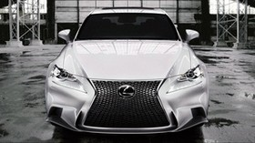 lexus, isf, sport, white - wallpapers, picture