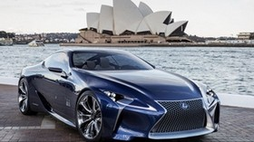 lexus, lf-lc, sydney, opera - wallpapers, picture