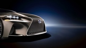 lexus, logo, emblem, front bumper - wallpapers, picture