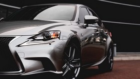 lexus rx, lexus, car, silver, side view - wallpapers, picture