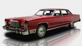 lincoln continental, 1976, car, car luxury, retro - wallpapers, picture