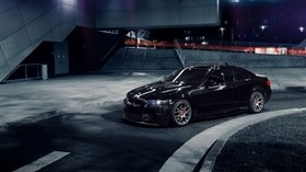 m conversion, 1013mm, bmw 335i, auto, black, side view, coupe - wallpapers, picture