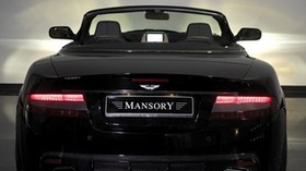 mansory, aston martin, db9, 2008, black, rear view, style, auto - wallpapers, picture
