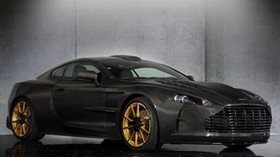 mansory, cyrus, aston martin db9, black, side view - wallpapers, picture