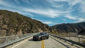 maserati levante, maserati, crossover, bridge, sky, mountains - wallpapers, picture