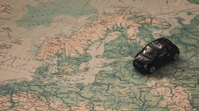 car, map, toy, travel, trip - wallpapers, picture