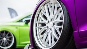 machine, wheel, drive, sports car, purple - wallpapers, picture