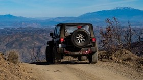 car, SUV, black, off-road, mountains - wallpapers, picture