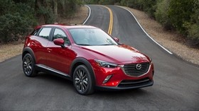 mazda, cx-3, side view - wallpapers, picture