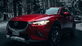 mazda, mazda6, car, red - wallpapers, picture