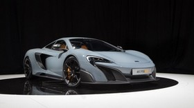 mclaren, 675lt, uk-spec, 2015, white, side view - wallpapers, picture