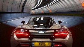 mclaren 720s, mclaren, car, sports car, tunnel - wallpapers, picture