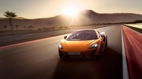mclaren, mclaren 570s, car, movement - wallpapers, picture