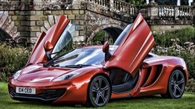 mclaren, mp4-12c, stylish, grass - wallpapers, picture