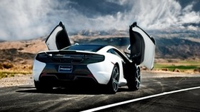 mclaren mp4-12c, mclaren, rear, car, car, car - wallpapers, picture