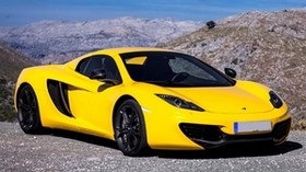 mclaren, mp4-12c, spider, 2012, new, car, yellow, mclaren, spider, beautiful, car - wallpapers, picture