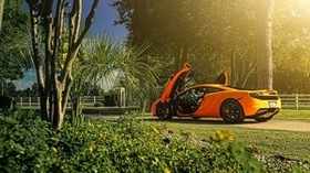 mclaren, mp4-12c, supercar, side view - wallpapers, picture