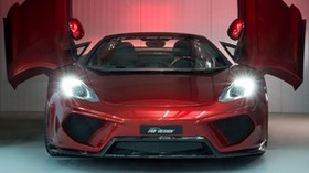 mclaren mp4-12c, front view, supercar - wallpapers, picture