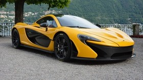 mclaren p1, hypercar, side view - wallpapers, picture