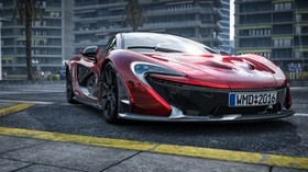 mclaren p1, mclaren, sports car, front view, car - wallpapers, picture