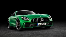 mercedes-benz, amg, gt3, c190, front view - wallpapers, picture