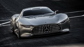 mercedes-benz amg, mercedes, gray, stylish - wallpapers, picture