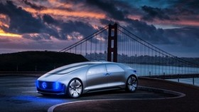 mercedes-benz, f015, 2015, side view - wallpapers, picture