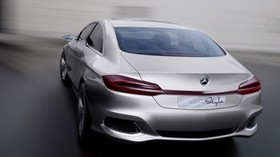 mercedes benz, f800, concept, rear view - wallpapers, picture