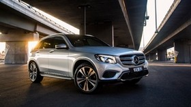 mercedes-benz, glc-class, x253, side view - wallpapers, picture